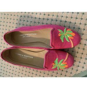Pink Stubbs and Wootton Women Ballet Flats